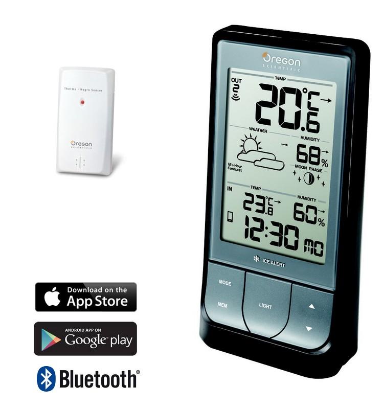 Illustration du produit : Station météo Thermo/Hygro Bluetooth SM01