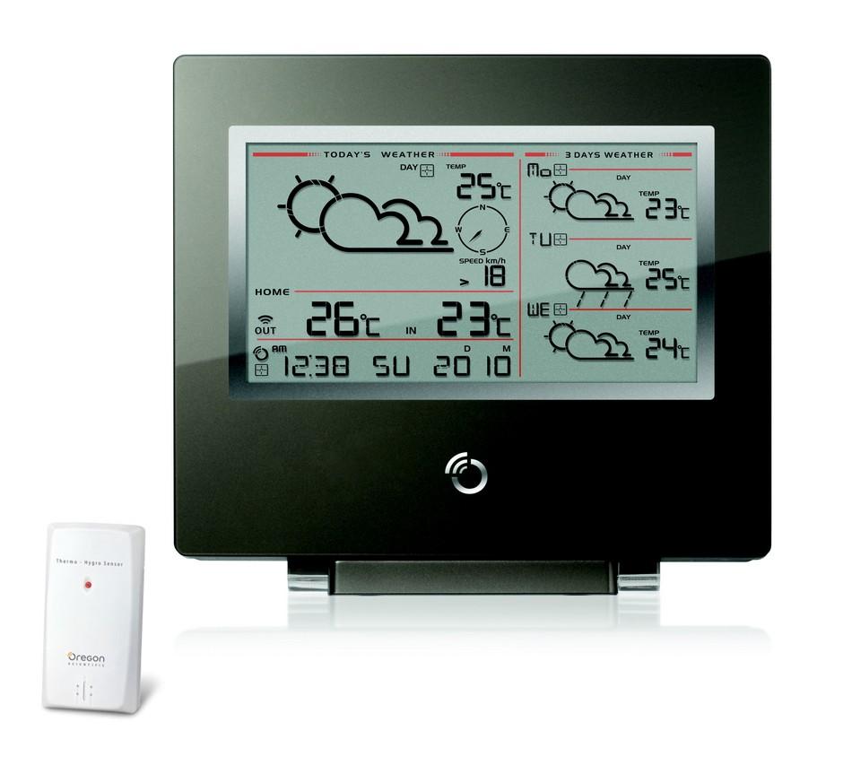 Illustration du produit : Station météo 4 jours Format CD SM02