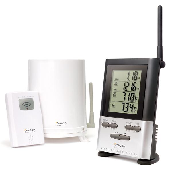 Illustration du produit : Thermo-pluviomètre électronique
