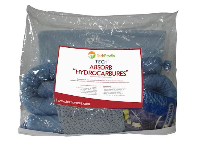 """Illustration du produit : Tech'Absorb """"Hydrocarbures"""""""