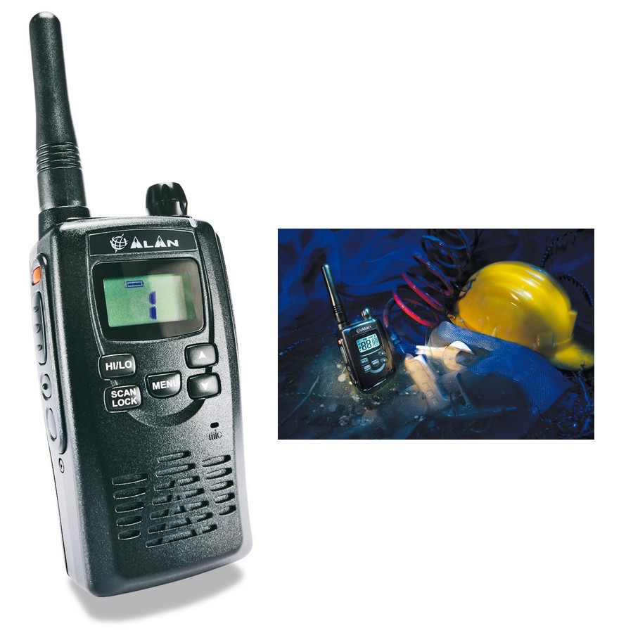 Illustration du produit : Talkie Walkie Bi-bande HP450 2A