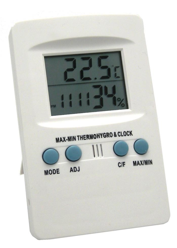 Illustration du produit : Thermomètre / Hygromètre