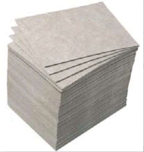 Illustration du produit : Feuillets absorbants pour hydrocarbures